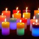 Hechizos de amor con velas de colores